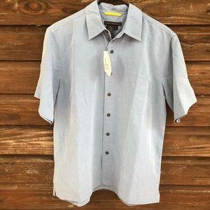 Royal Robbins Short Sleeve Button Down Sz Med NWT